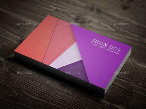 material design business card template  rtralrayhan