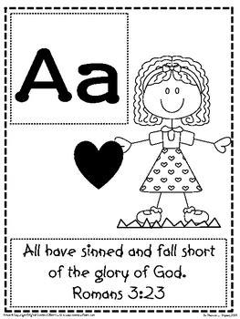 bible verse abcs gods word alphabet posters