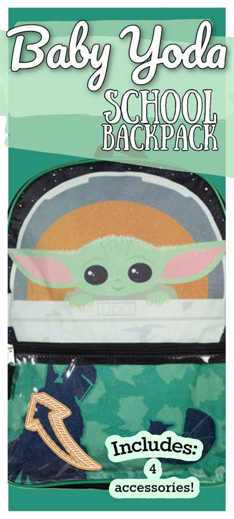 You Can Get a Baby Yoda Backpack For Your Kids and It Is ...