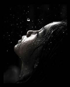 I want to cry in the rain. To feel the cool water and warm ...