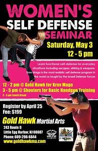 Women's Self Defense Seminar - Krav Maga & Gun Training ...