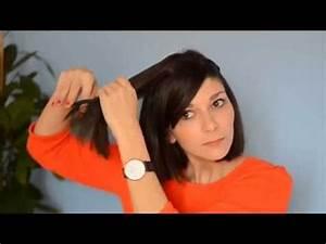 Coiffer Un Carré : tuto coiffure carr ondul et tresses youtube ~ Farleysfitness.com Idées de Décoration
