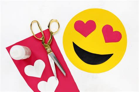diy emoji crafts  step  step emoji ideas party