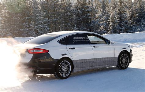 2017 Ford Mondeo Facelift Spyshots Reveal Refreshed Lights