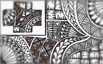 Tongan Pattern Tattoos