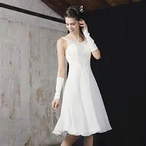 robe de mariage courte robes de mariée