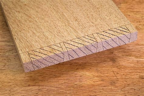 dovetail joint   mark  pins