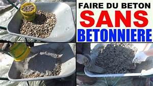 Dosage Pour Faire Du Beton : faire du b ton sans b tonni re la main brouette mix ~ Premium-room.com Idées de Décoration