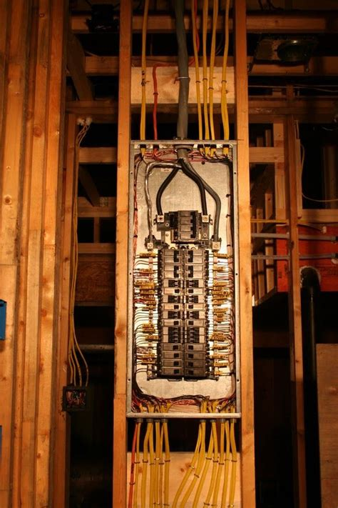 Electrical Panel Installation Picture Home
