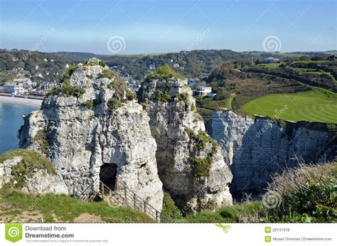 chambre etretat cliffs of etretat in royalty free stock