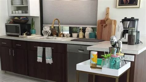 Kitchen Cabinet Transformation  Contact Paper Makeover