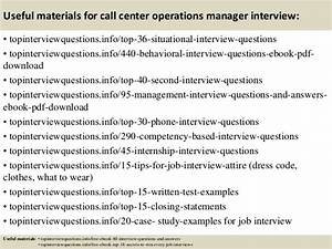 Top 10 call center operations manager interview questions ...