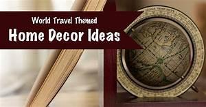 70, World, Travel, Themed, Home, Decor, Ideas
