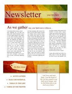 newsletter designer 7 best images of newsletter design templates fall newsletter design templates bulletin church