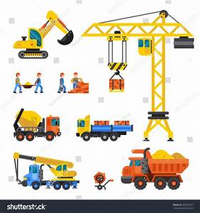 Building Under Construction Workers Construction Technic ...