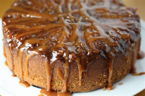 A Better Caramel Apple Cake The Gourmand Mom