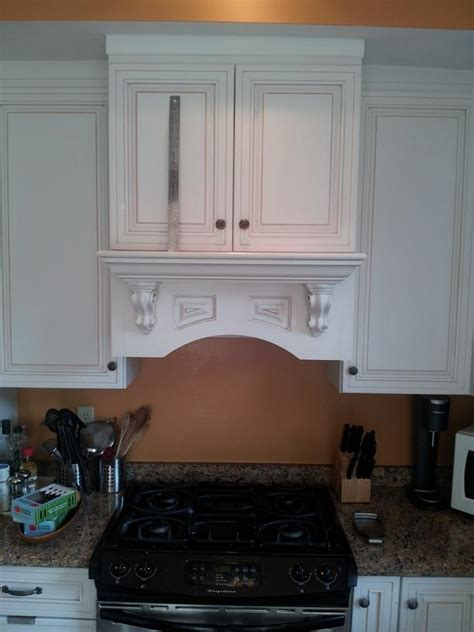 shelving easiest way to build an oddly shaped shelf for cabinet above stove home improvement
