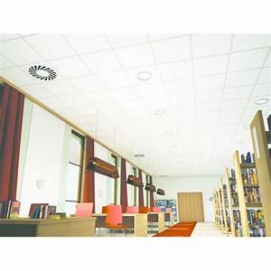 Dalle Pour Plafond : dalle plafond suspendu acoustique ~ Edinachiropracticcenter.com Idées de Décoration