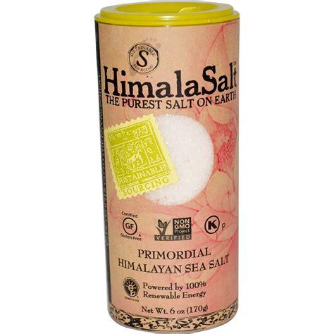 what is a himalayan salt l himalasalt primordial himalayan sea salt 6 oz 170 g