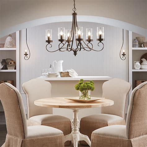 30832 dining room chandeliers lowes grand dining room 5 light chandelier crystop clear k9