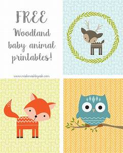 FREE printable woodland animals | for kids and nursery ...