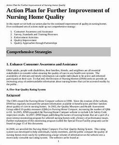 38 free action plan samples sample templates With nursing action plan template