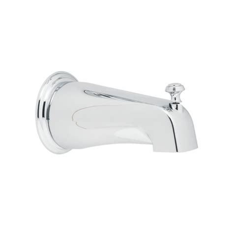 Sink Sprayer Diverter Connection by Moen 3808 Chrome 5 3 4 Quot Tub Spout With 1 2 Quot Slip Fit