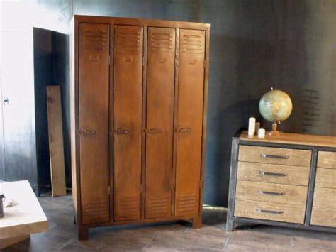 armoires de cuisine armoires et vestiaires en metal de style industriel