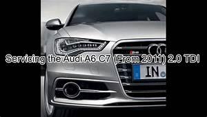 Audi A6 C7 2 0 Tdi Basic Service