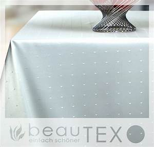 Damast Tischdecke Weiß : punkte tischdecke damast rund 260 cm weiss beautex ebay ~ Watch28wear.com Haus und Dekorationen