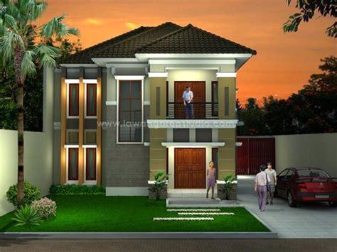 gambar desain rumah mewah minimalis  terbaru desain