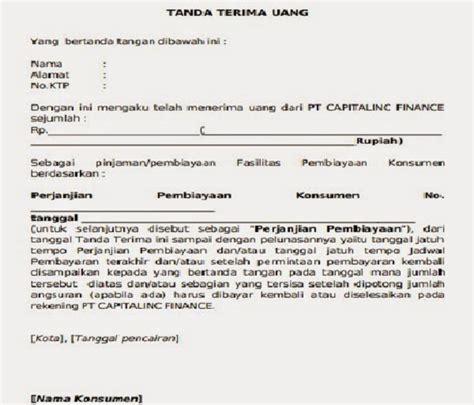 contoh surat bukti pembayaran dp rumah contoh surat bukti penerimaan pembayaran dp rumah