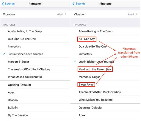 to send ringtones to iphone how to transfer ringtones from iphone to iphone directly