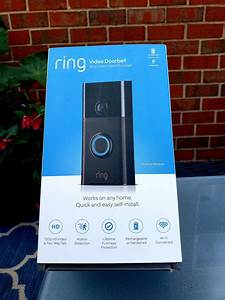 How To Install A Ring Video Doorbell  U0026 User U0026 39 S Guide