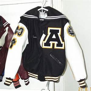 267asc With texas letter jackets