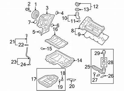 Filter Engine Oil Hyundai Housing Parts Element