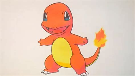 como dibujar  charmander pokemon    draw
