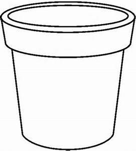 Plant Pot Template - ClipArt Best