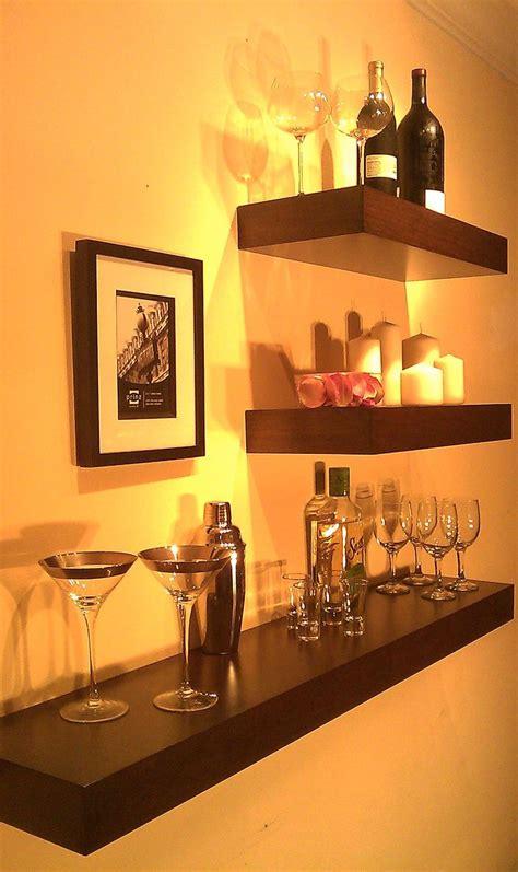 Bar Wall Shelves by 25 Best Ideas About Bar Shelves On Shelves