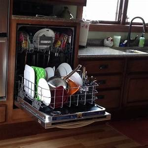 Raised dishwasher! Best decision Ryan and I made while