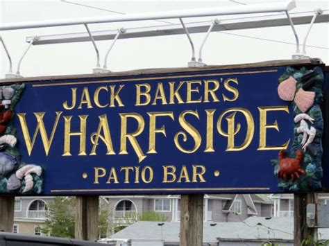 Wharfside Patio Bar Point Pleasant New Jersey by Beautiful View From Our Booth Picture Of Baker S