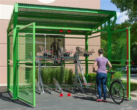 dero bike racks introducing dero s new bike depot shelter for secure