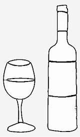 Bottle Wine Coloring Botella Glass Dibujo Vino Colorear Buchanans Again Bar Don Looking Case Seekpng sketch template