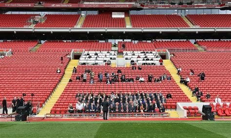 In photos: The unveiling of Anfield's new Main Stand ...