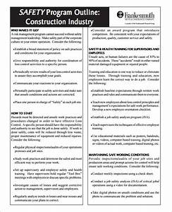 workplace safety program template 28 images sle safety With workplace safety plan template