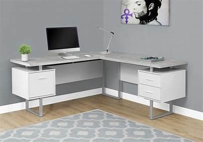 Desk Computer Monarch Specialties 70 Right Left