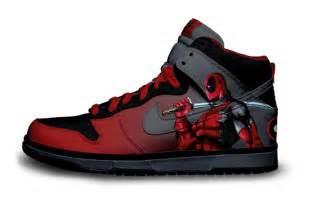 Deadpool Nike Sneakers Custom