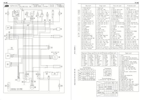 ktm exc headlight wiring diagram