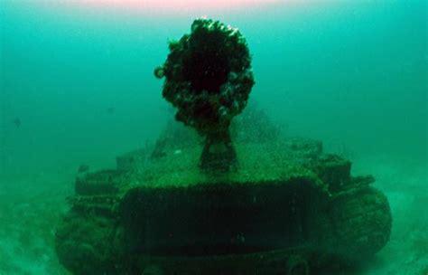 scuba tanks  artificial reefs  divers