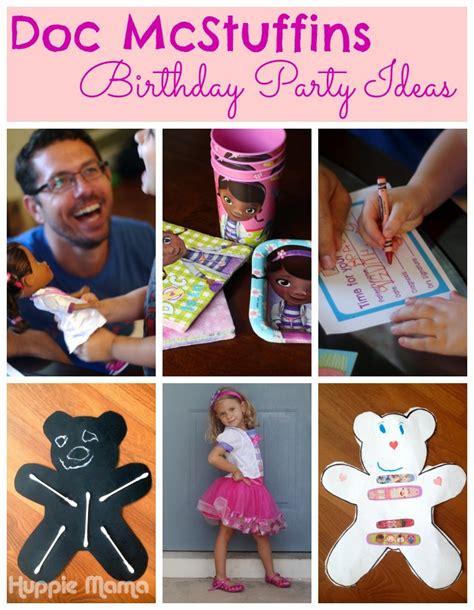 mcstuffins birthday party ideas  potluck family